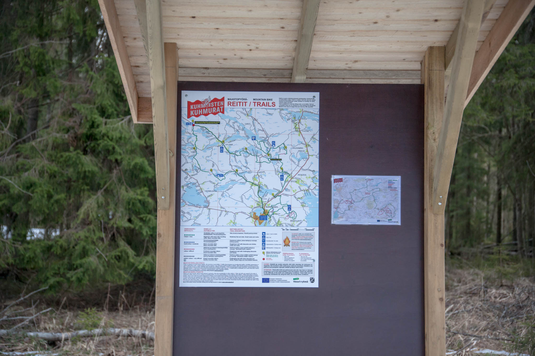 pyöräilyreitit isojärvi Kuhmoinen