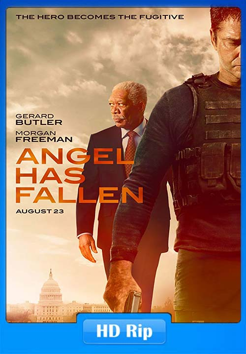 Angel Has Fallen 2019 720p WEBRip x264 | 480p 300MB | 100MB HEVC