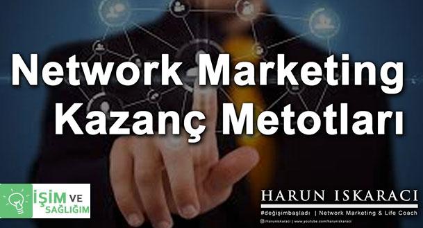 network marketing kazanç planı