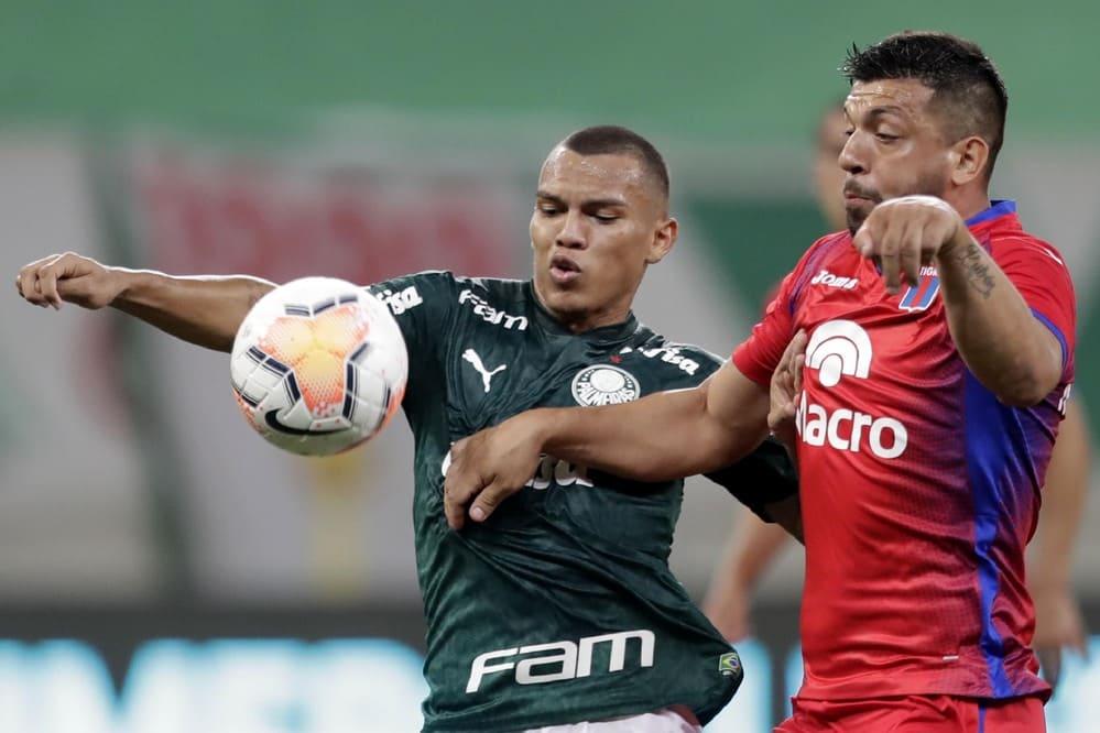 Tigre se quedó afuera de todo ante un Palmeiras que se convirtió en el primero de la tabla general