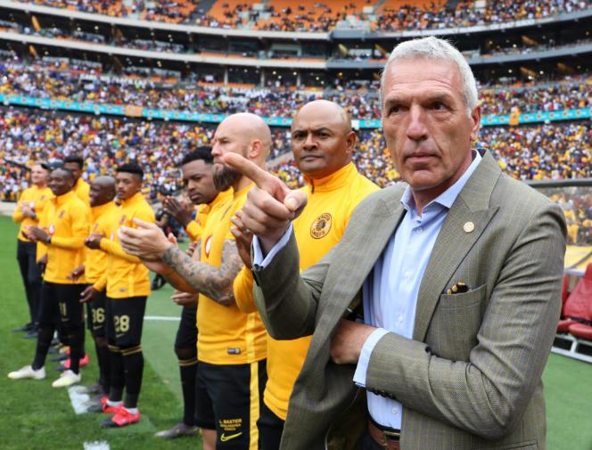 Ernst Middendorp, Shaun Bartlett & the Kaizer Chiefs squad