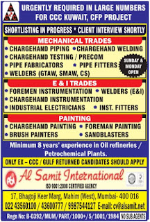 CCC CFP Project jobs in Kuwait