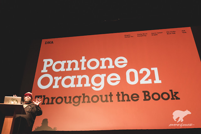 The DDC way: Pantone Orange 021.