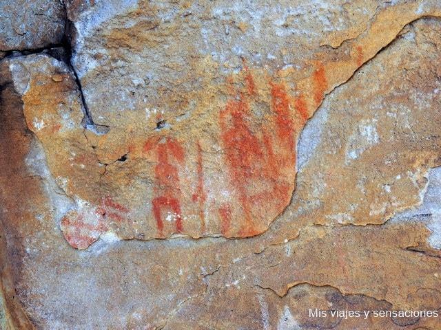 Pintura rupestre Peñón de la Visera, Valonsadero, Soria