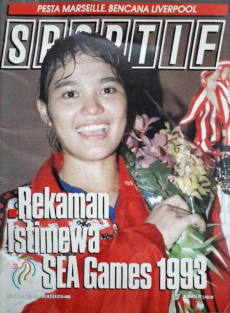 MAJALAH SPORTIF REKAMAN ISTIMEWA SEA GAMES 1993