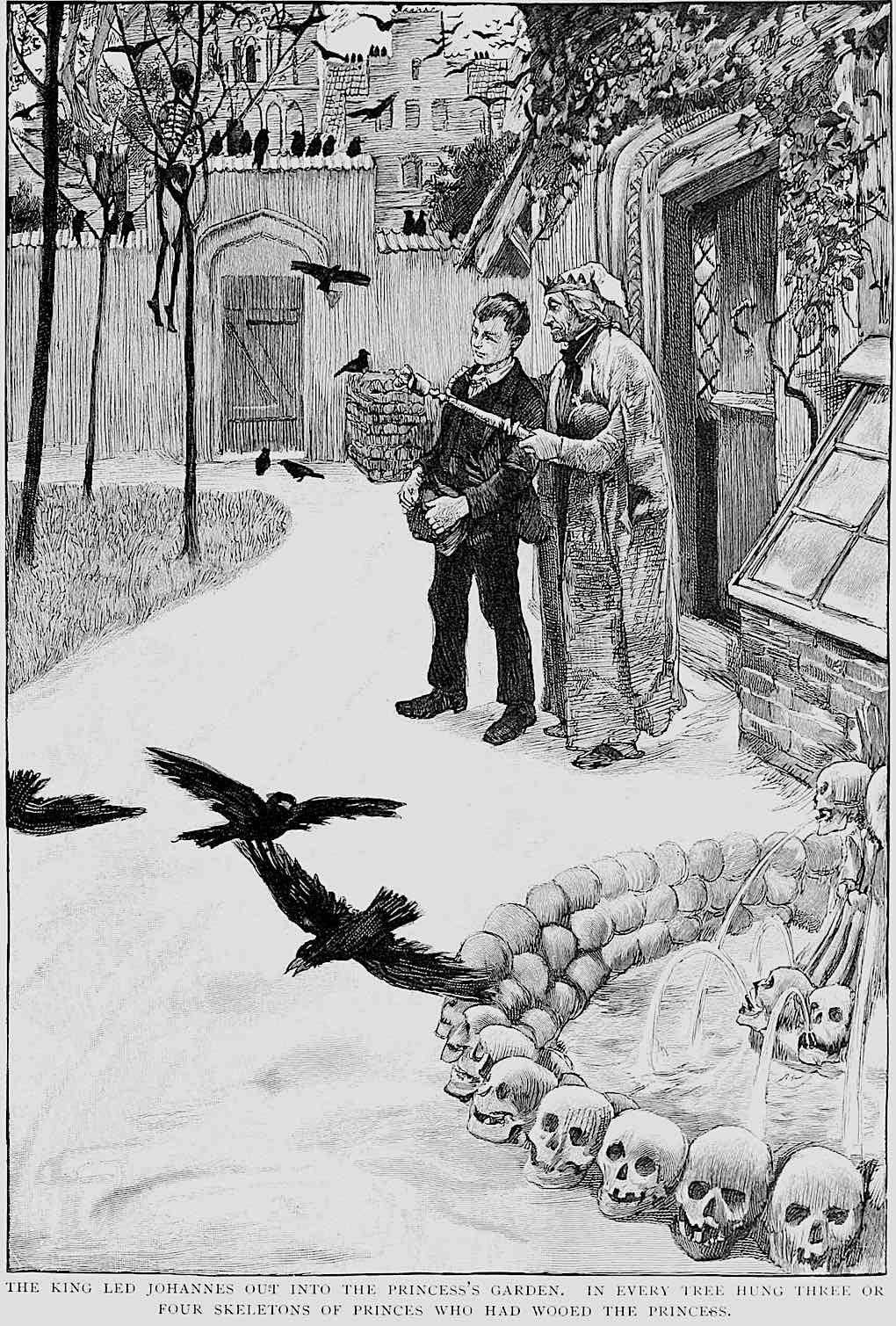 Hans Tegner 1900 illustration