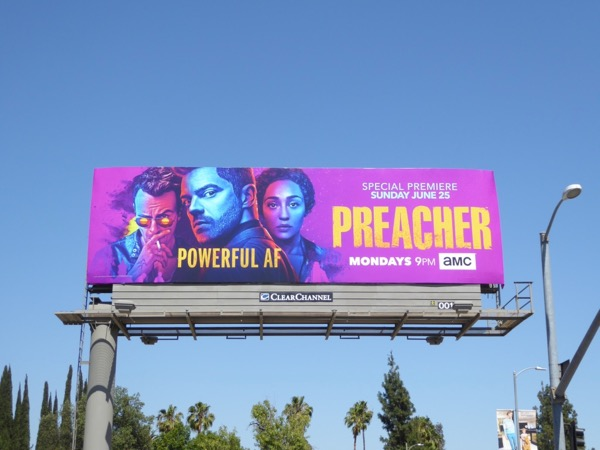 Preacher season 2 billboard