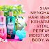Siap Menghadapi Hari Bersama Keharuman Vitalis Perfumed Moisturizing Body Wash
