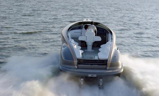 Lexus giới thiệu bàn concept siêu du thuyền đầu tiên - trang bị nhiều công nghệ hiện đại