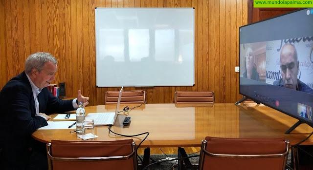 El consejero Sebastián Franquis pone en marcha una mesa de trabajo para coordinar la recuperación económica del sector del taxi en Canarias