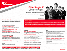 Tech Mahindra Walkin Interview