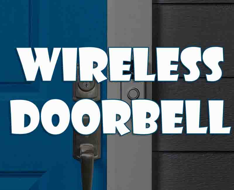 How to Improve your home with a wireless doorbell
