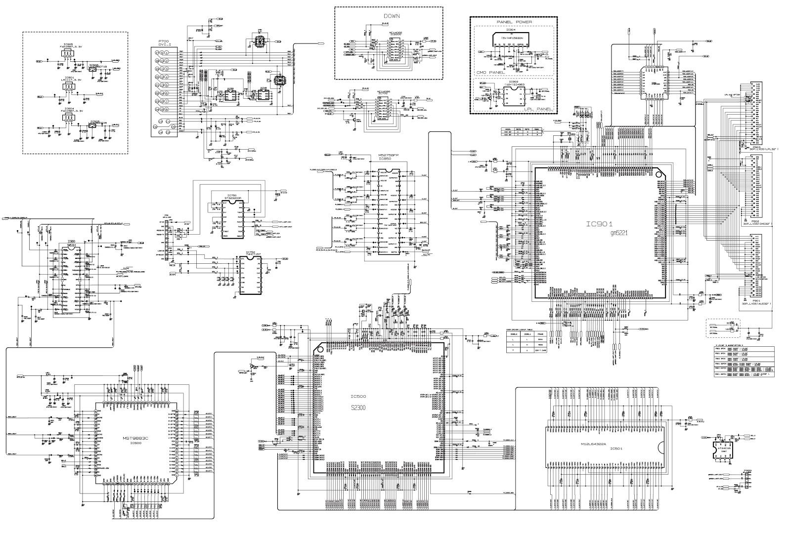 lg rz23lz55 lcd tv schematic circuit diagram schematic diagrams rh schematicscom blogspot com [ 1600 x 1081 Pixel ]