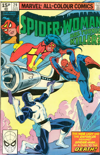 Spider-Woman #29, Spider-Man and the Enforcer