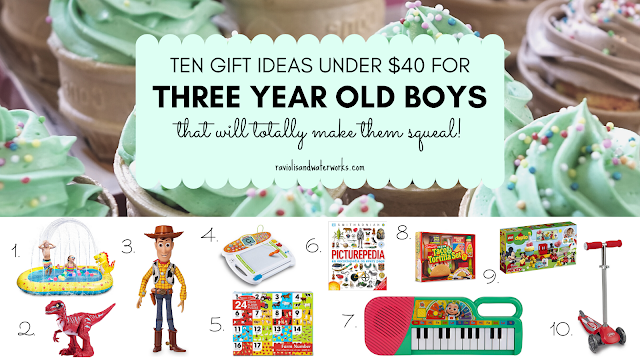 what to buy a three old boy toddler