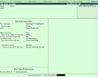 How to Create Payroll in Tally Erp 9 in Hindi (टैली में पेरोल कैसे बनाए)