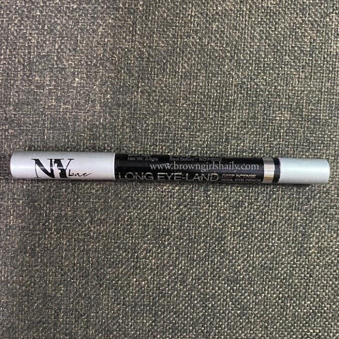 NY Bae Deep Intense Kohl Eye Pencil- Blue Review   Most Affordable Eye Liner