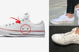 Ever Wondered What Those Two Holes On Your Converse Are For?