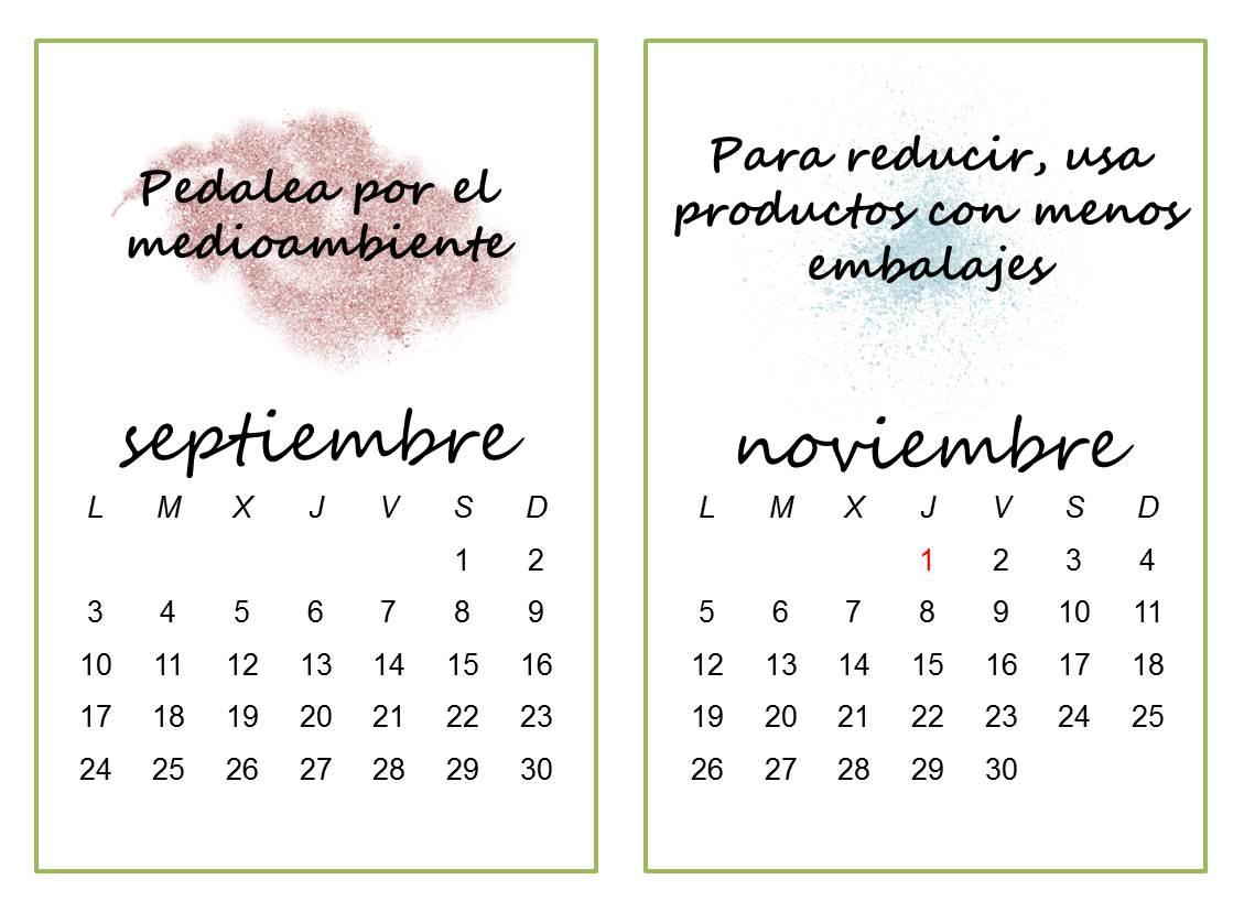 Concienciame Calendario 2018 Frases Por El Medioambiente