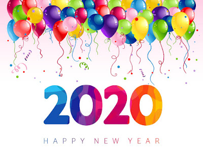 happy new year images 3d 2020