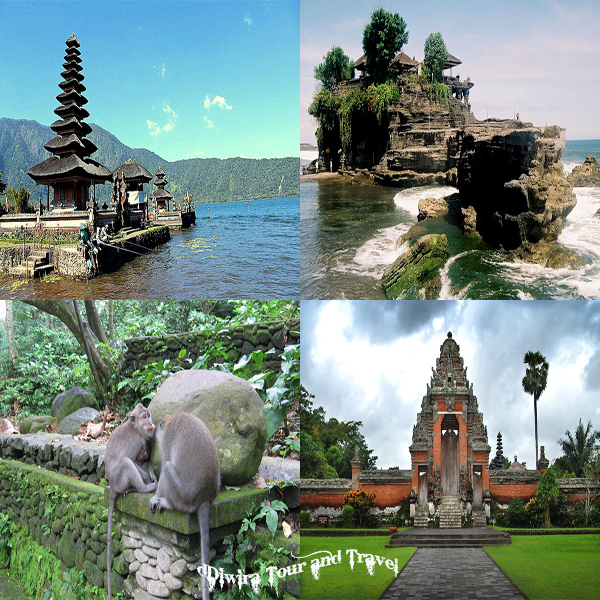 paket bedugul & tanah lot tour