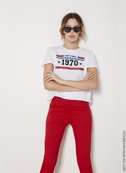 Moda primavera verano 2019 │Pantalones de moda mujer verano 2019.