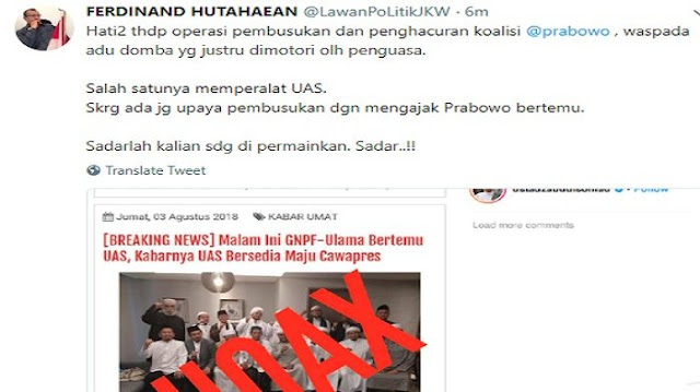 Tanggapan Politisi Demokrat saat Ustaz Somad Bantah Kabar Bersedia jadi Cawapres Prabowo