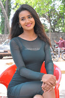 Simran Choudhary Cute beauty with dimples in transparent Green Tight Short Dress ~  Exclusive 023.jpg
