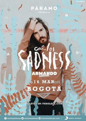 CONCIERTO DE CARLOS SADNESS EN BOGOTÁ