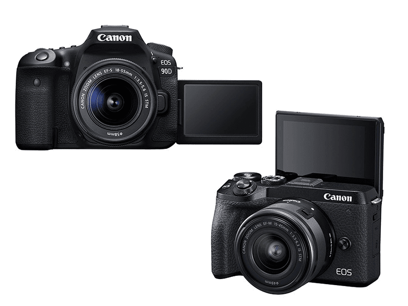 Canon announces 32.5MP EOS 90D, EOS M6 Mark II with uncrop 4K recording