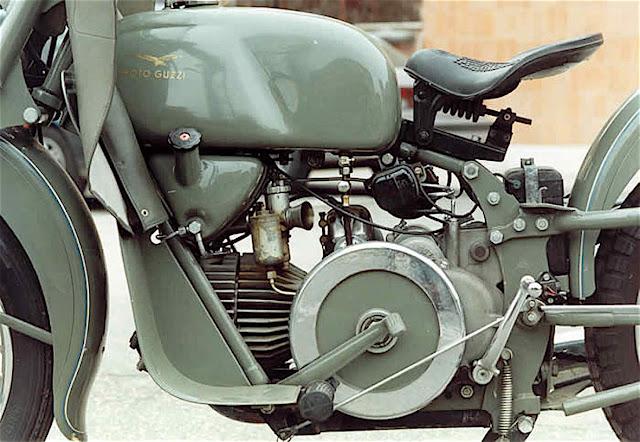 Moto Guzzi Falcone Exhaust Sound