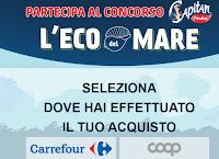 """Concorso Findus """"L'Eco del Mare"""" : da Coop e Carrefour vinci 552 buoni spesa da 50 euro e 2 Scooter elettrico Quadro Oxygen (5100 euro)"""