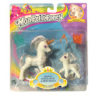 MLP Princess Silver Swirl Light Up Families G2 Pony