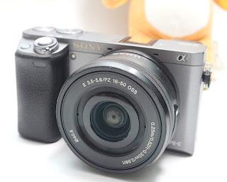Jual Mirrorless Sony A6000 Graphite Bekas