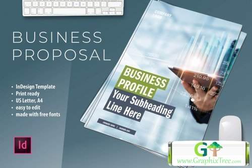 Business Proposal Template 5212447 [Powerpoint] [Indesign & Powerpoints]