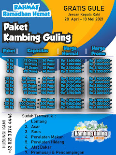 Murah!!! Harga Kambing Guling di Bandung