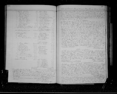 Climbing My Family Tree: Page 475 (right) - Estate Inventory of Frederick Stump, Deceased; Mary Stump Admix.