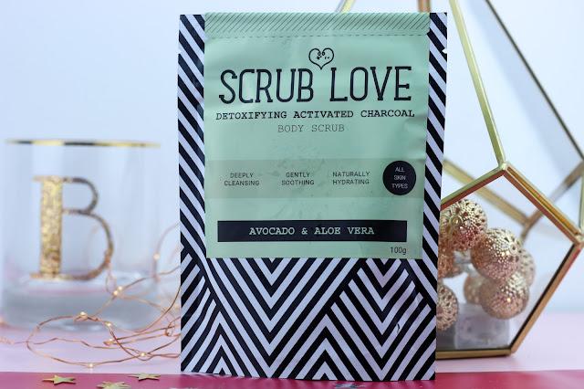 Scrub Love Active Charcoal Body Scrub
