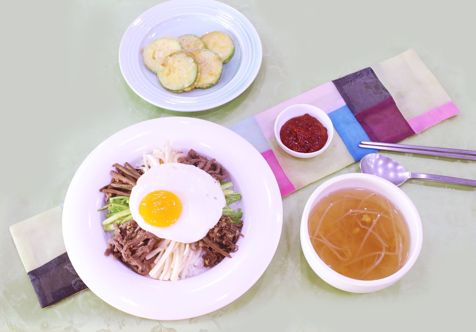 The Beauty Of Korean Food Institute of Traditional Korean Food