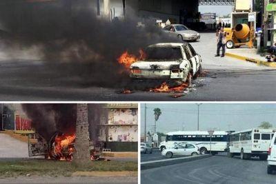 La hora c smica arde reynosa crimen desata nueva ola de incendios bloqueos y balaceras - La hora en el paso texas ...