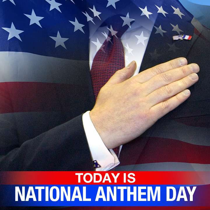National Anthem Day Wishes Unique Image