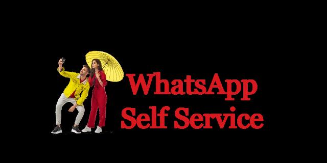 WhatsApp Self Services