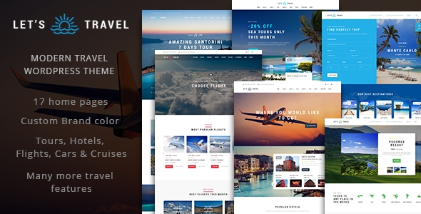 Download Lets Travel - Complete Travel Booking Theme