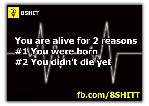 Dua Alasan Mengapa Kita Hidup