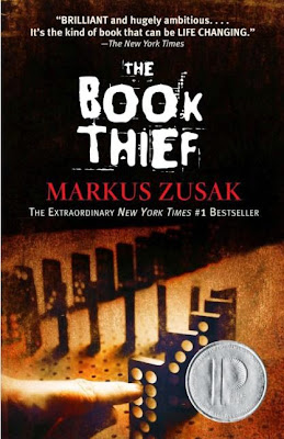 The Book Thief by Markus Zusak - book cover