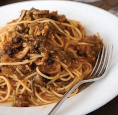 Fort Lauderdale Personal Chef - St. Joseph's Pasta with Sawdust Recipe