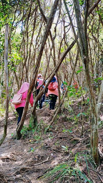 Hiking di Pulau Berhala Sandakan 2.0