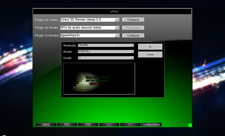 ps3 emulator 1.1.6