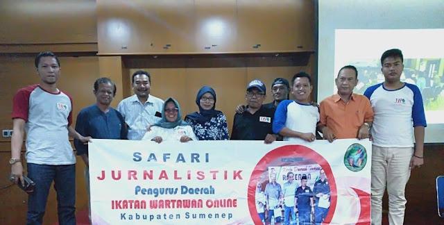 Pengurus IWO Sumenep Gelar Safari Jurnalistik Ke Yogyakarta