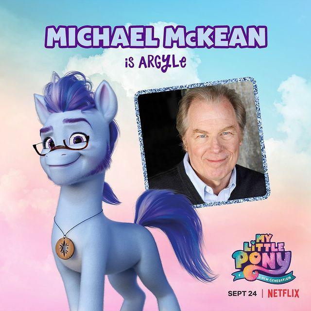 Argyle My Little Pony - A New Generation Micheal McKean